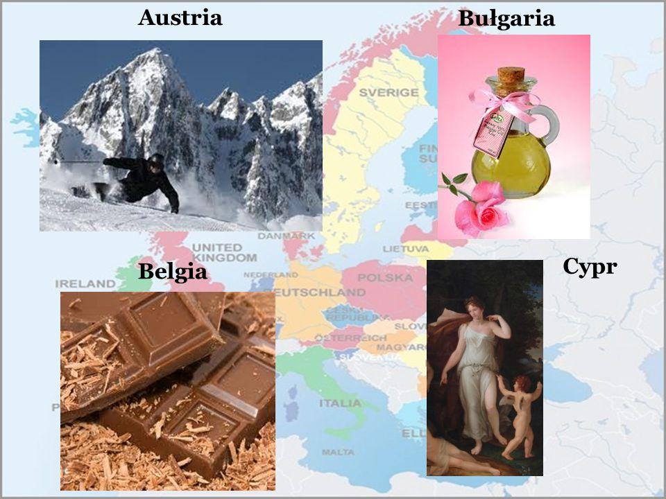 Austria Bułgaria Cypr Belgia