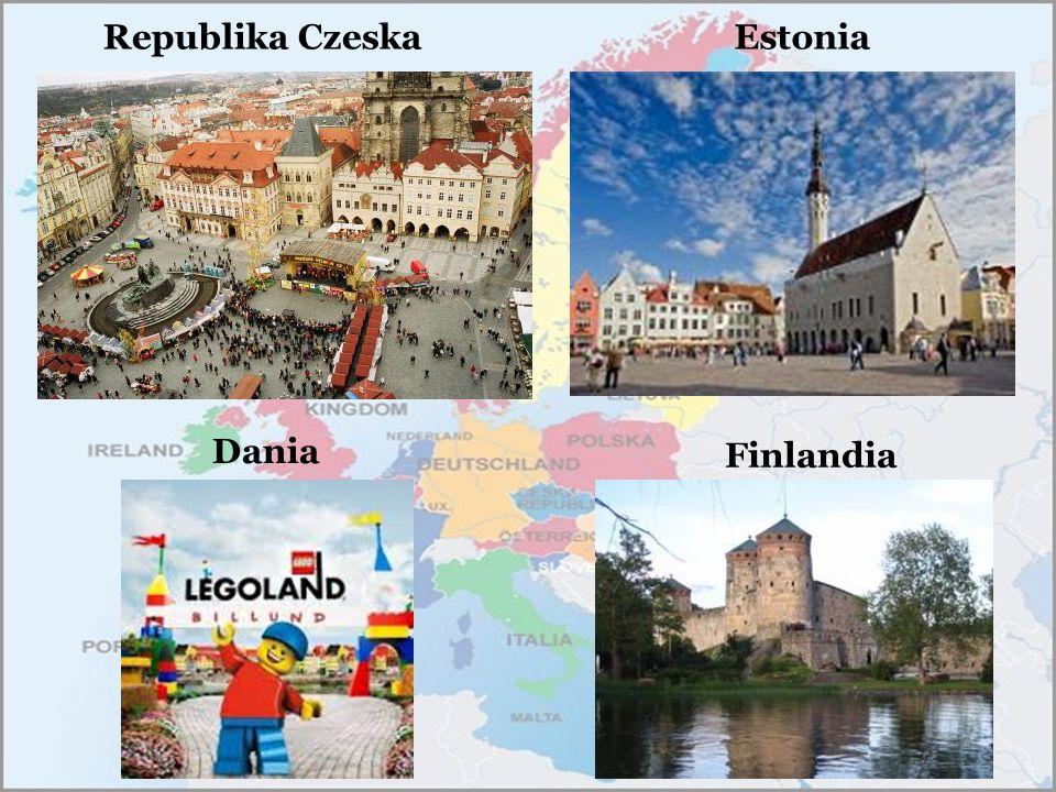 Republika Czeska Estonia Dania Finlandia