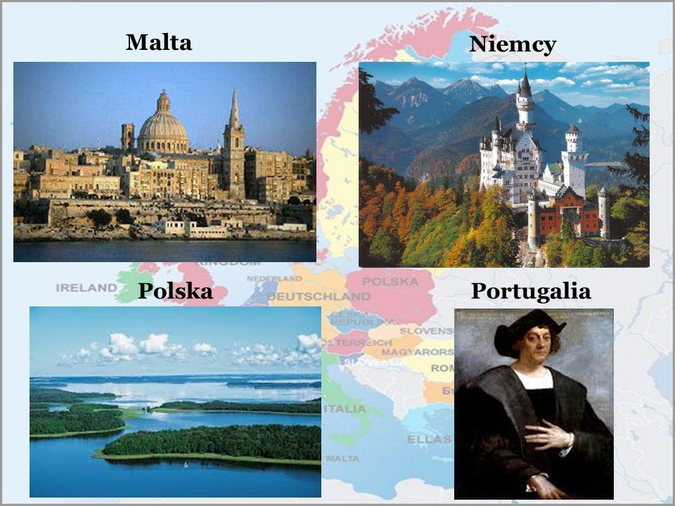 Niemcy Malta Polska Portugalia