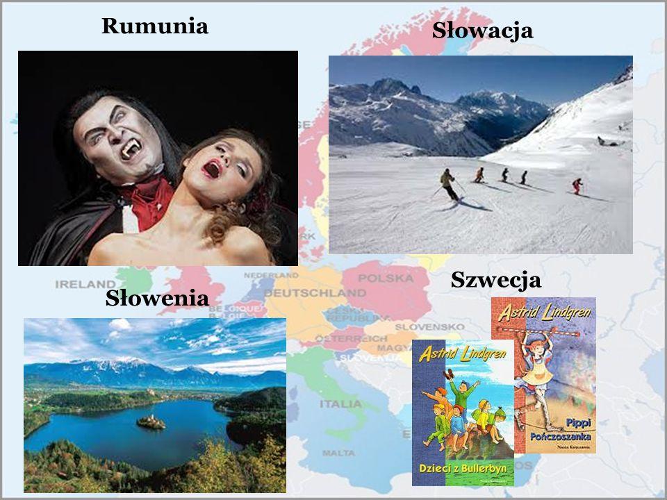 Rumunia Słowacja Szwecja Słowenia
