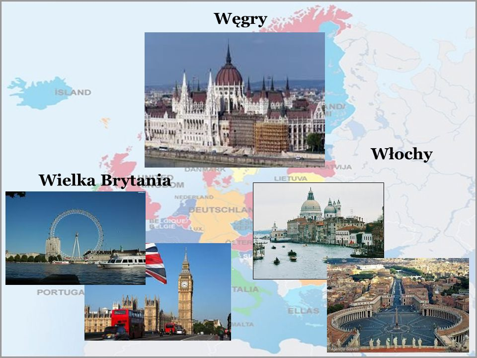 Węgry Włochy Wielka Brytania