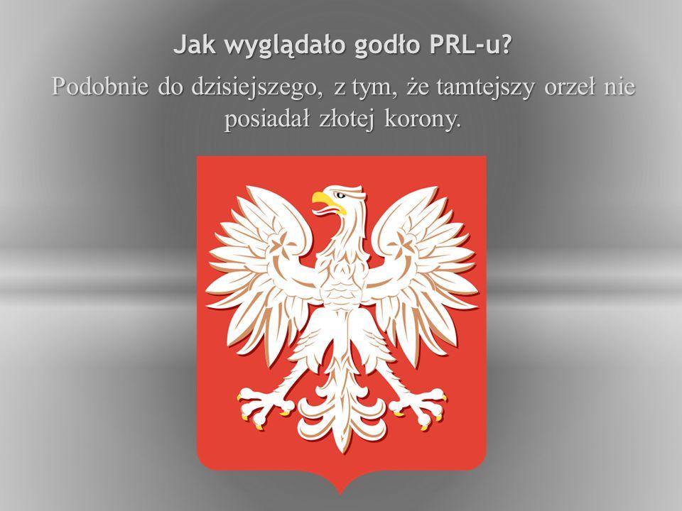 Jak wyglądało godło PRL-u