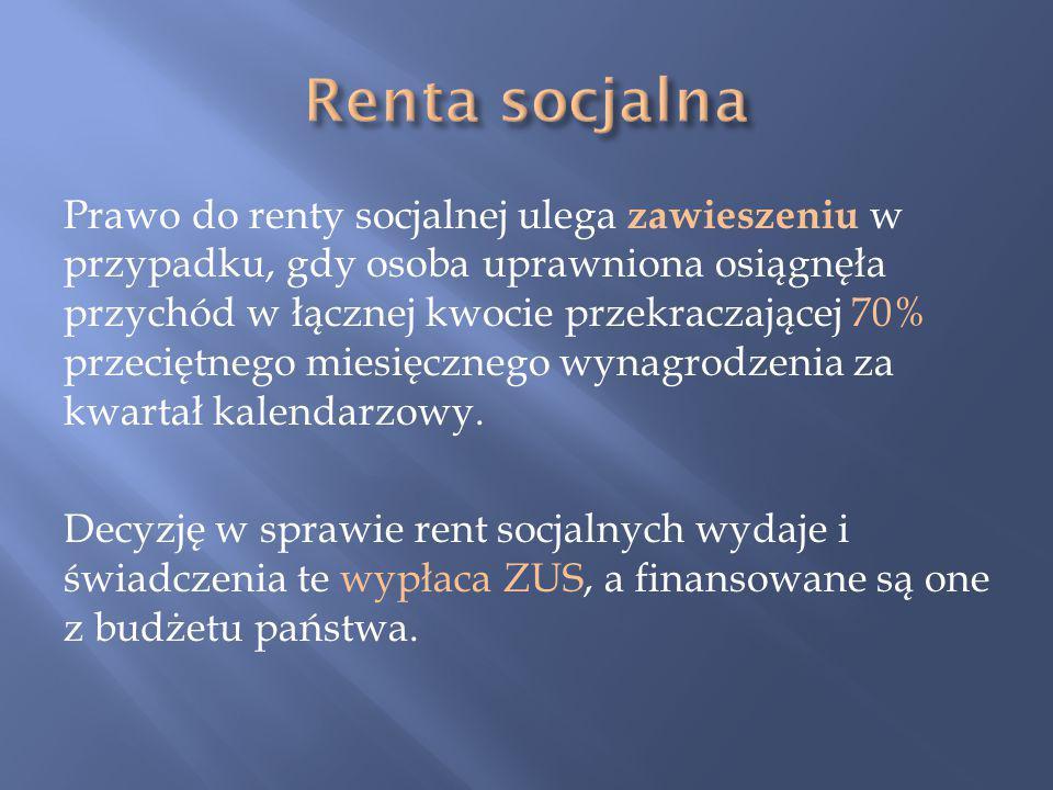 Renta socjalna