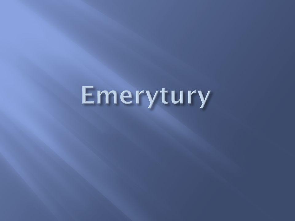 Emerytury