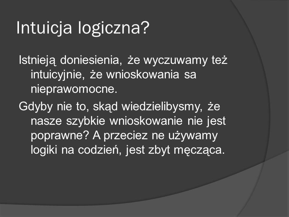 Intuicja logiczna