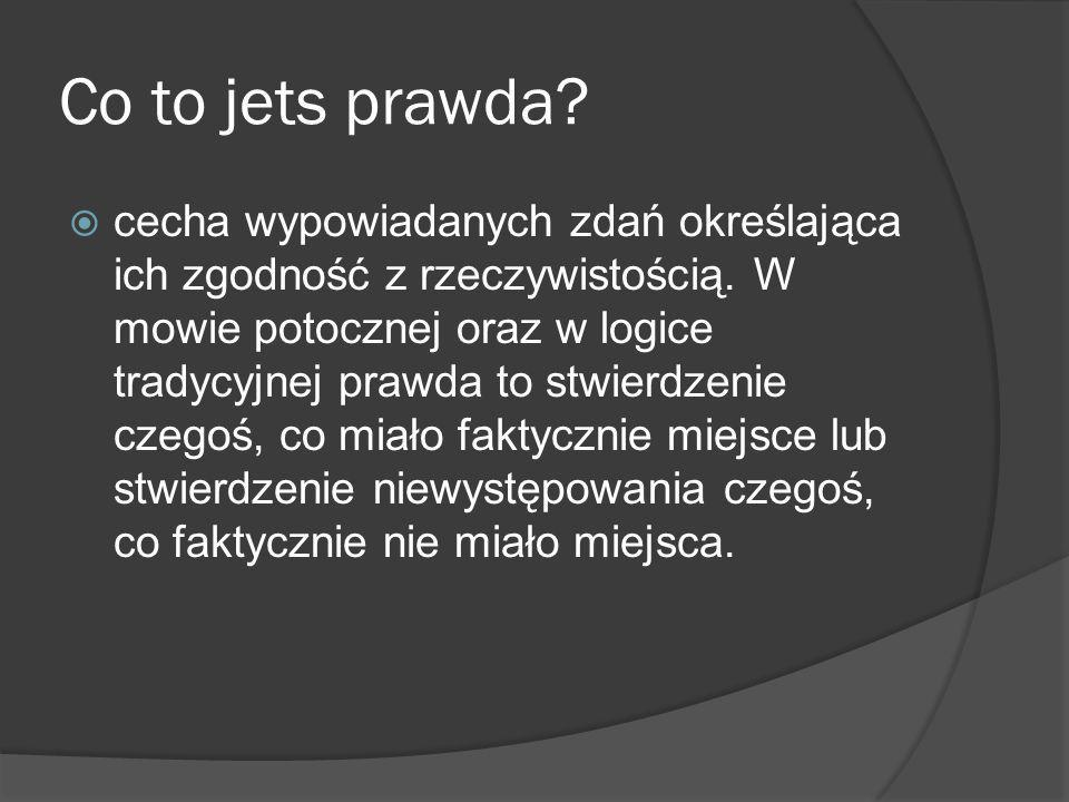 Co to jets prawda