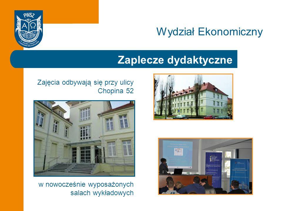 Wydział Ekonomiczny Zaplecze dydaktyczne