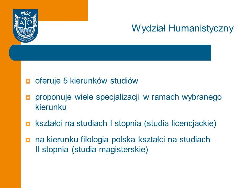 Wydział Humanistyczny