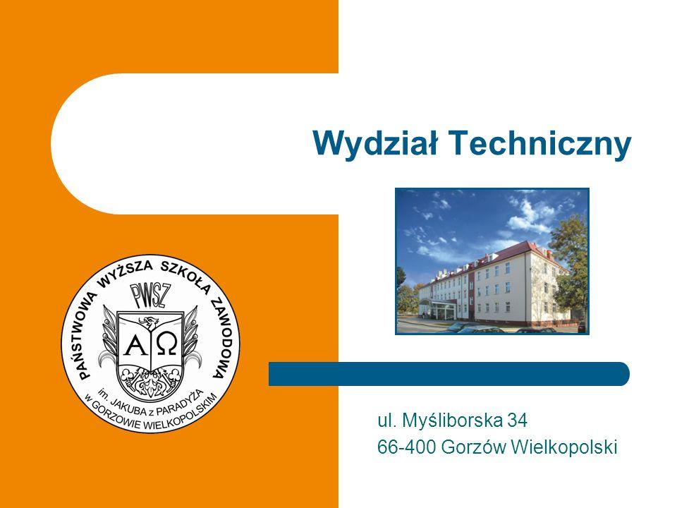 ul. Myśliborska 34 66-400 Gorzów Wielkopolski