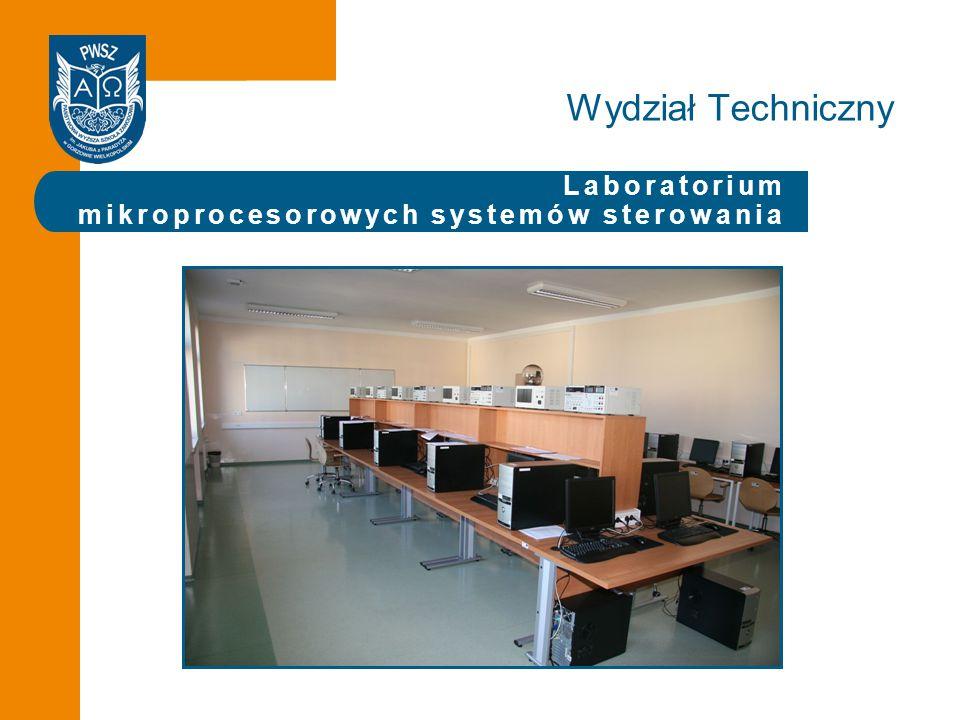 Laboratorium mikroprocesorowych systemów sterowania