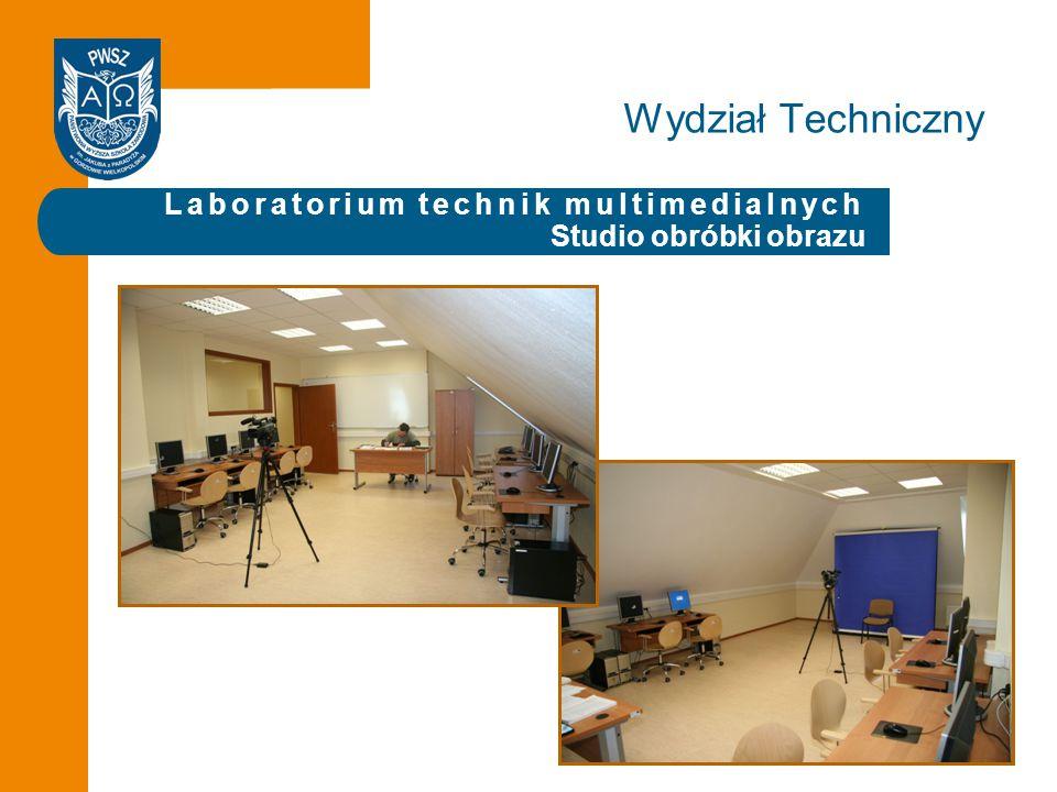 Laboratorium technik multimedialnych Studio obróbki obrazu