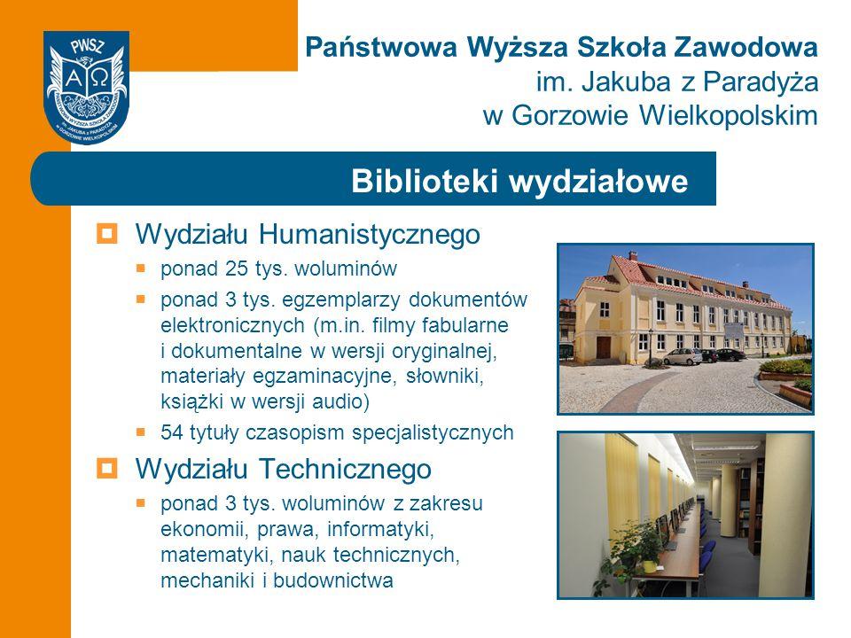 Biblioteki wydziałowe