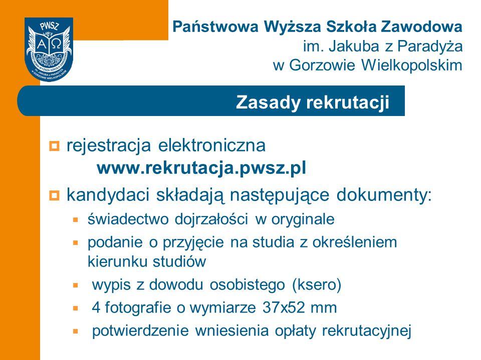 rejestracja elektroniczna www.rekrutacja.pwsz.pl