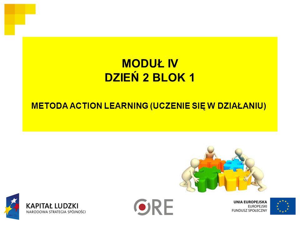 METODA ACTION LEARNING (UCZENIE SIĘ W DZIAŁANIU)