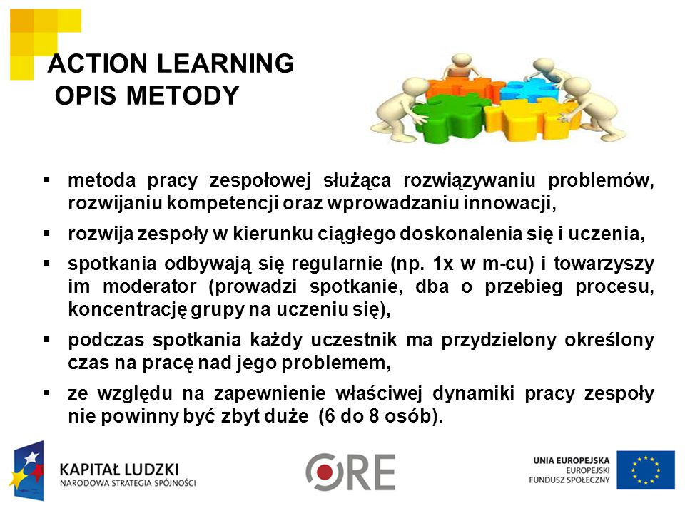 ACTION LEARNING OPIS METODY