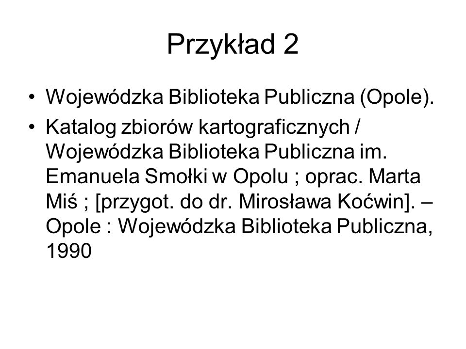 Przykład 2 Wojewódzka Biblioteka Publiczna (Opole).