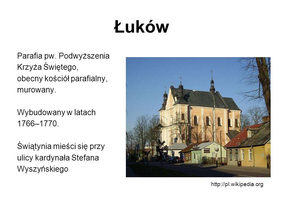 Łuków Parafia pw. Podwyższenia Krzyża Świętego,