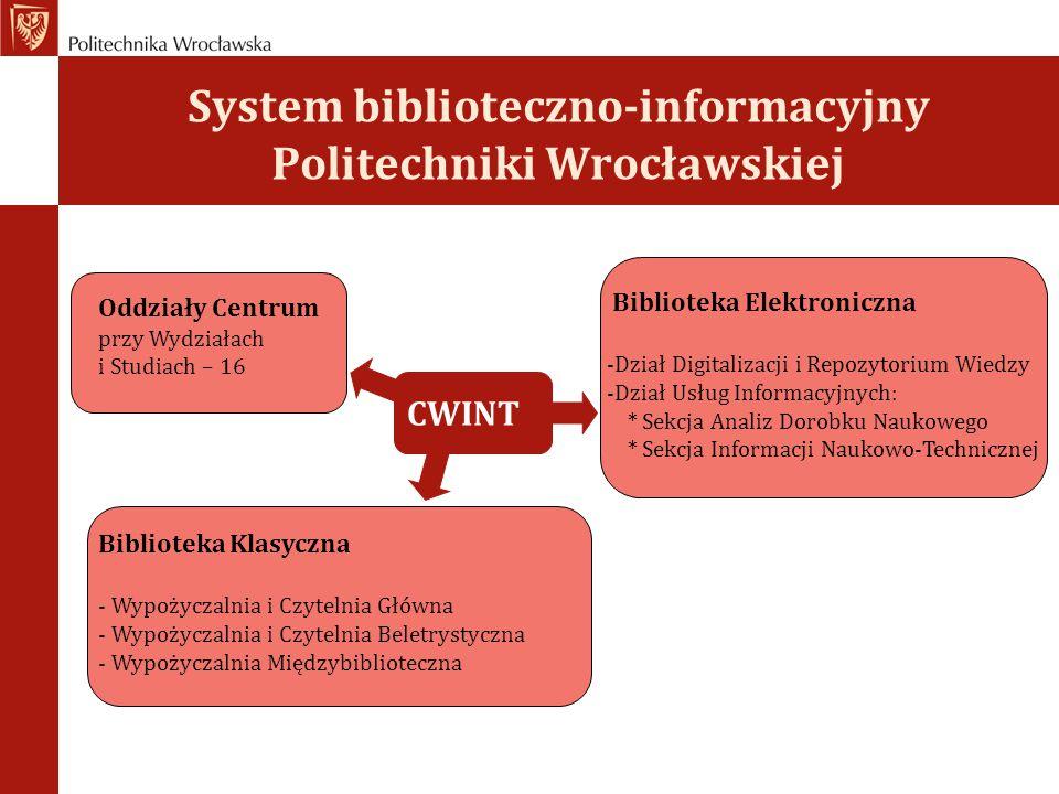 System biblioteczno-informacyjny Politechniki Wrocławskiej