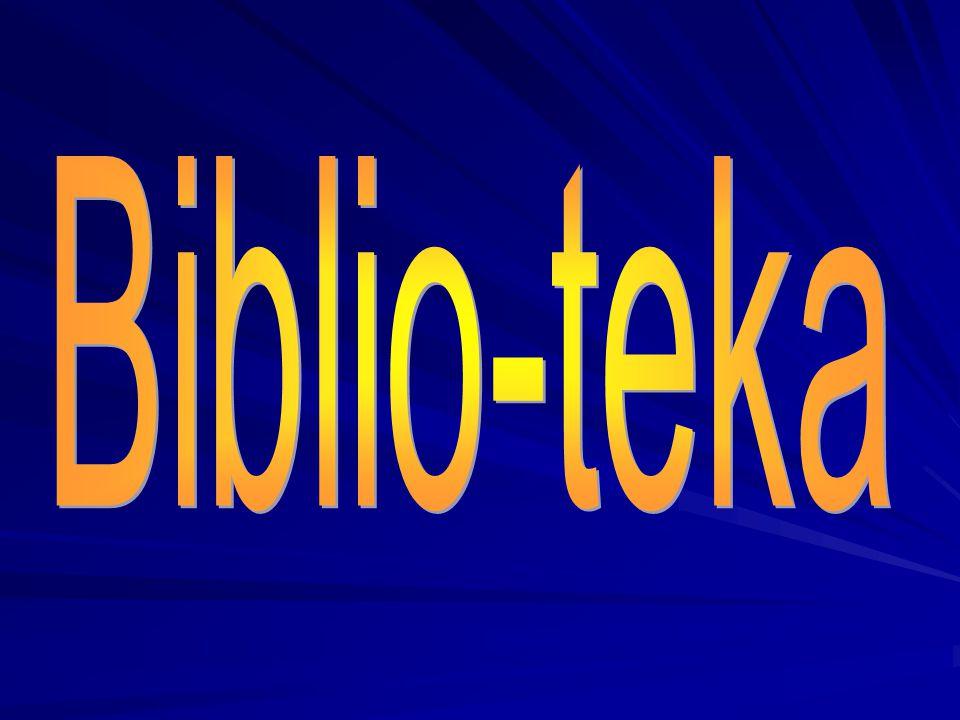 Biblio-teka Lekcja o Biblii dla dzieci 9 – 12 lat