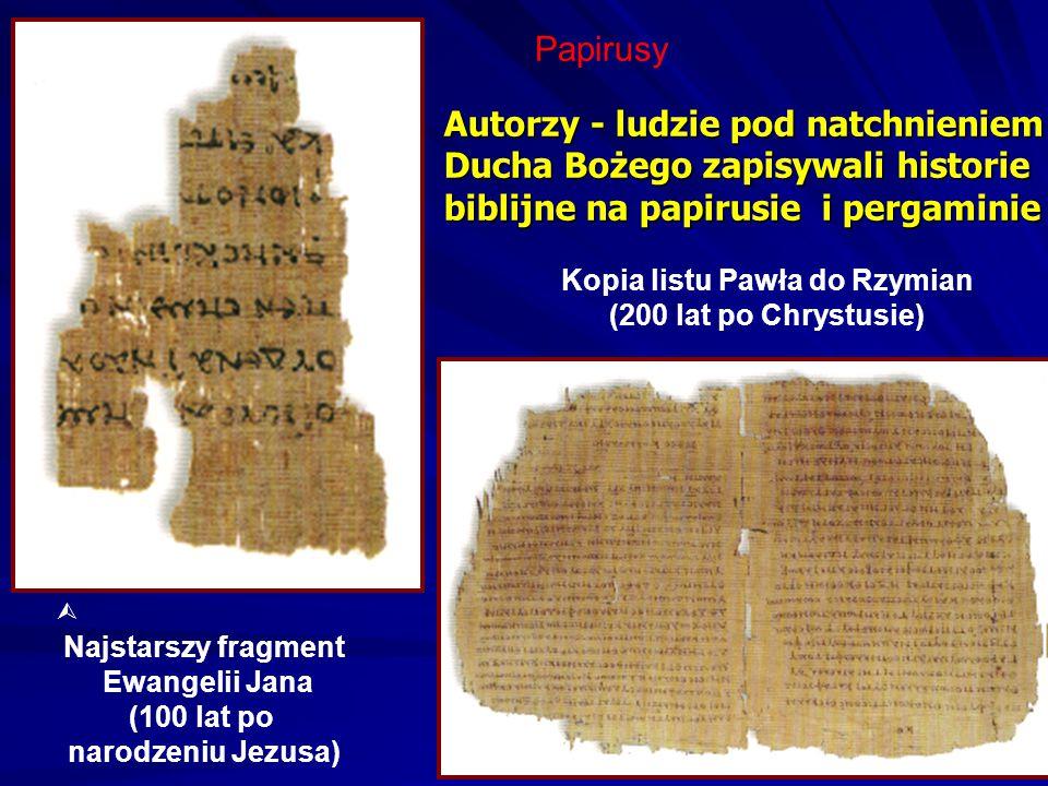 Kopia listu Pawła do Rzymian