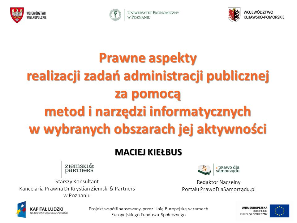 Redaktor Naczelny Portalu PrawoDlaSamorządu.pl