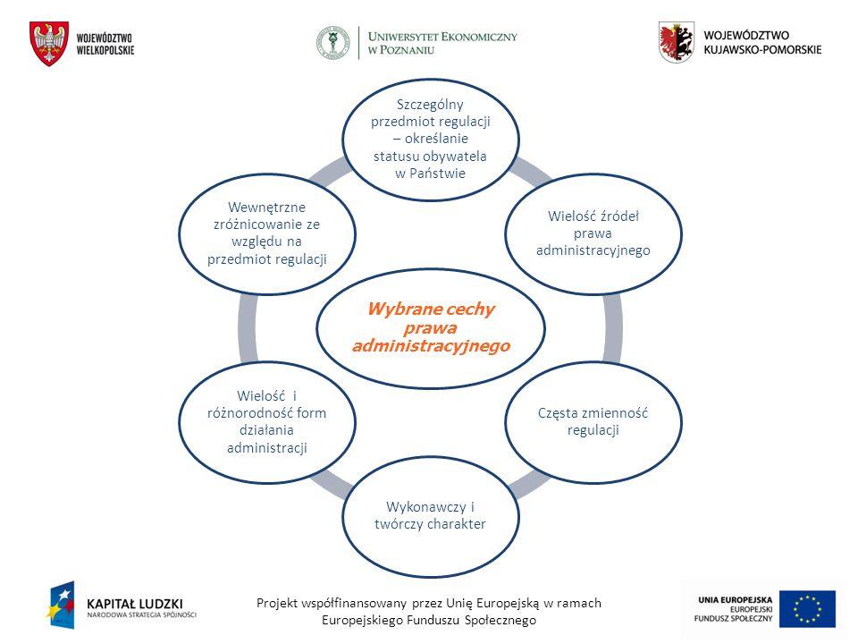 Wybrane cechy prawa administracyjnego