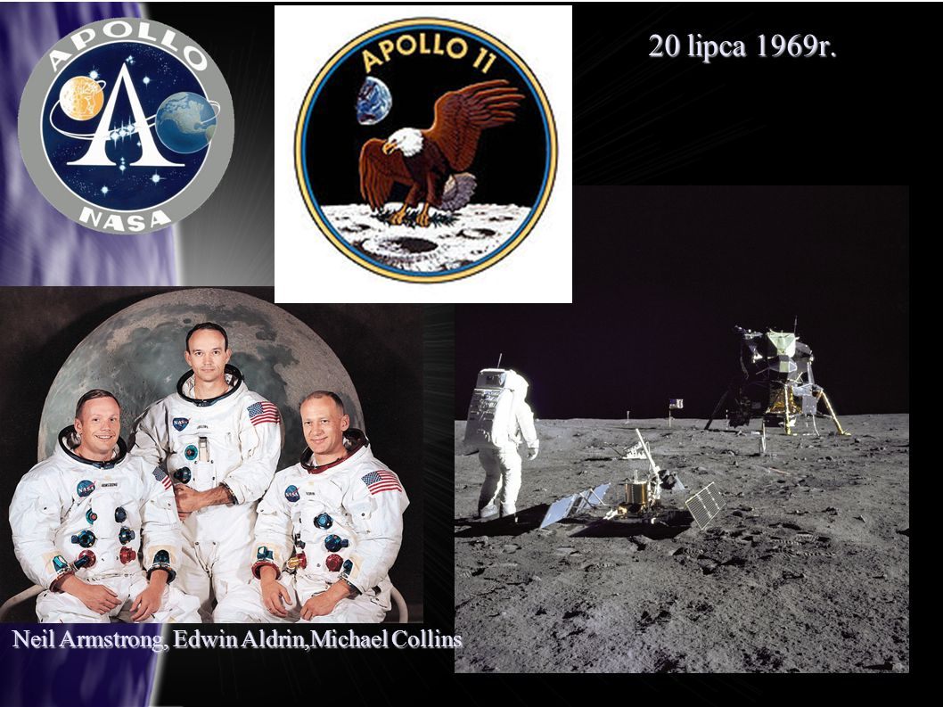 Neil Armstrong, Edwin Aldrin,Michael Collins