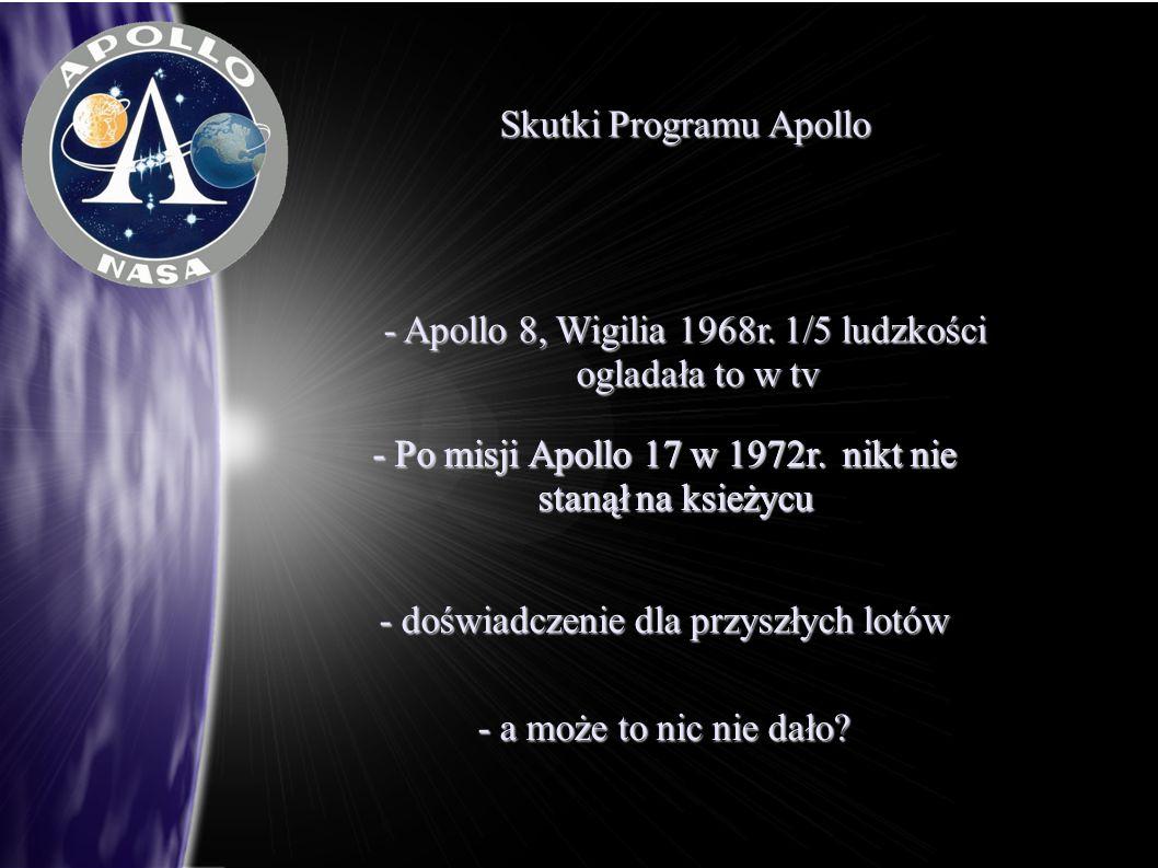 Skutki Programu Apollo