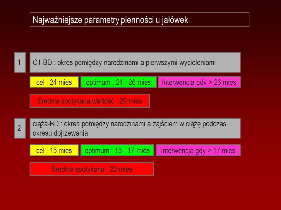Najważniejsze parametry plenności u jałówek