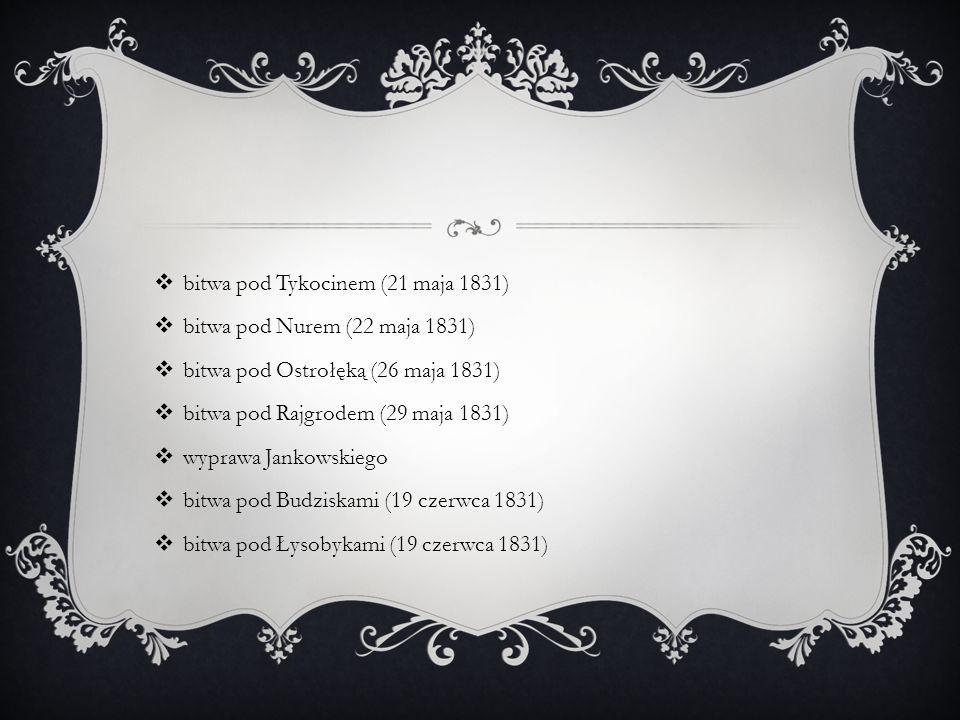 bitwa pod Tykocinem (21 maja 1831)