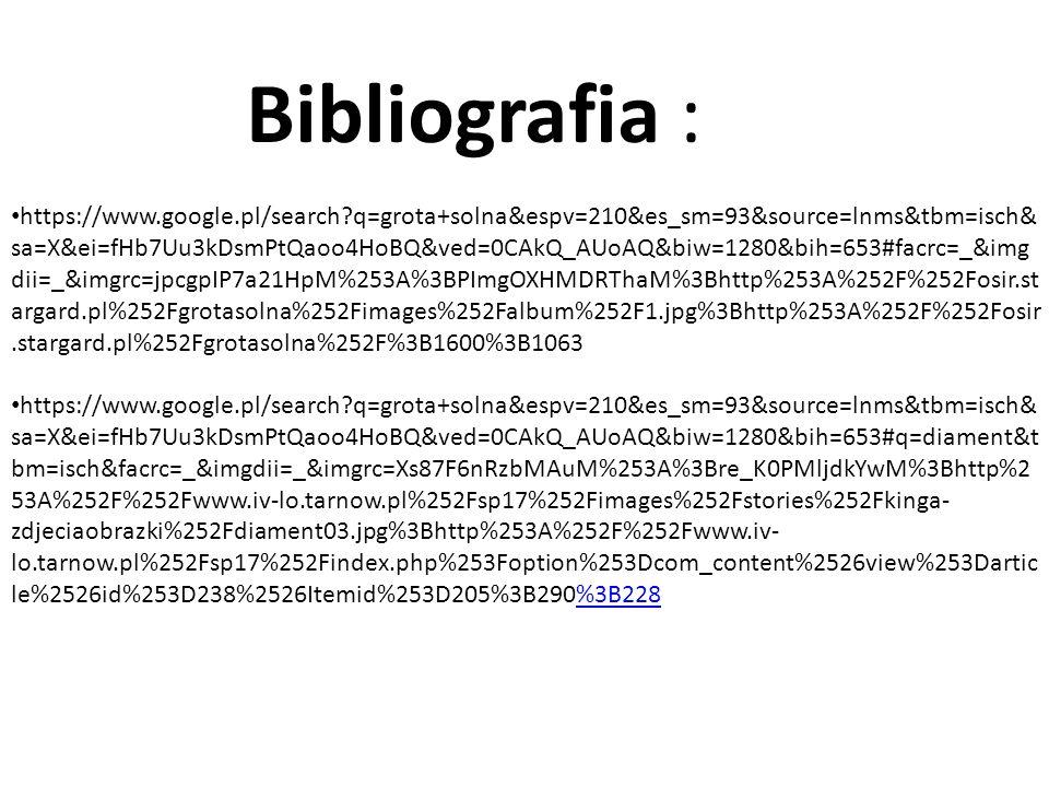 Bibliografia :