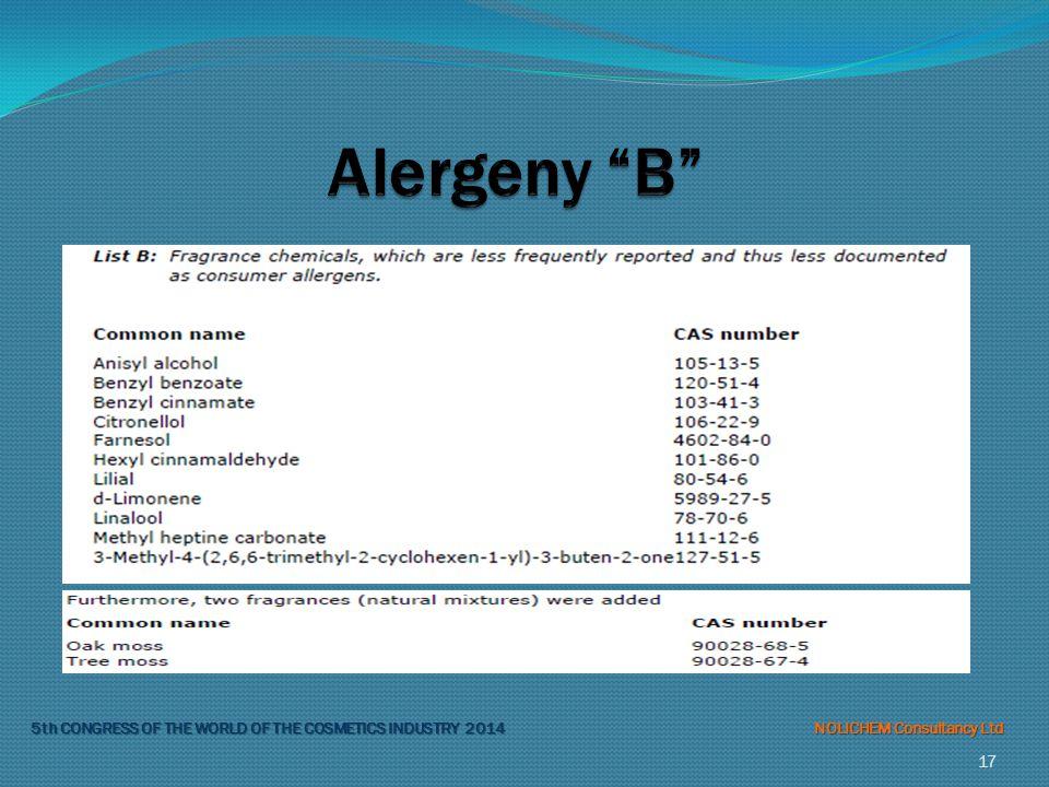 Alergeny B