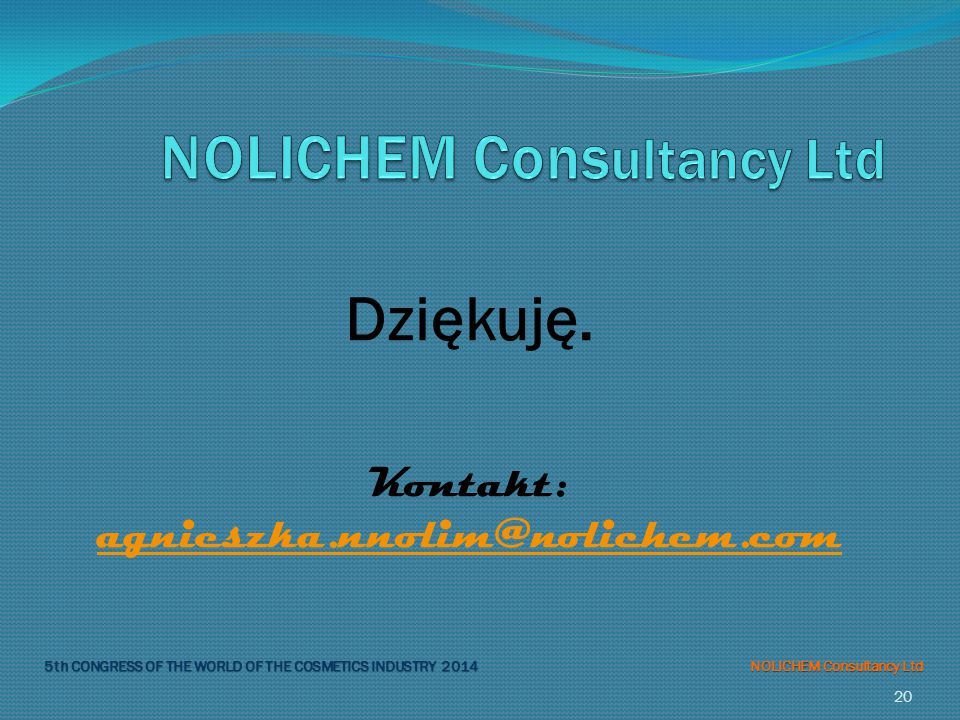 NOLICHEM Consultancy Ltd