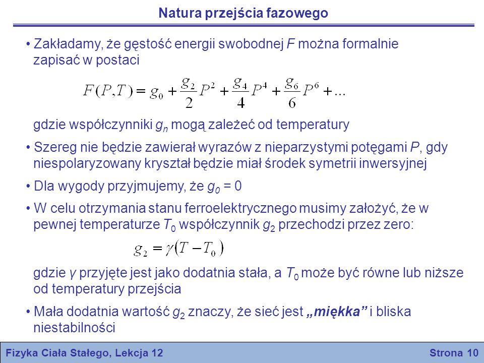 Fizyka Ciała Stałego, Lekcja 12 Strona 10