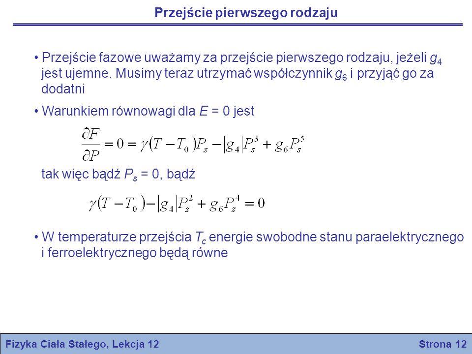 Fizyka Ciała Stałego, Lekcja 12 Strona 12