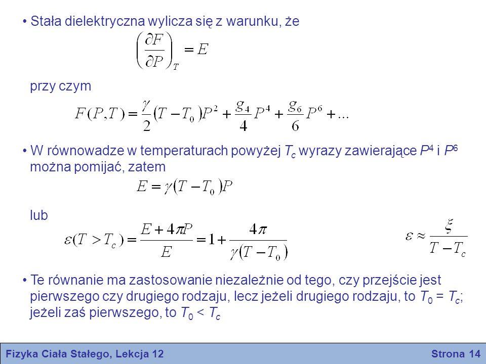 Fizyka Ciała Stałego, Lekcja 12 Strona 14