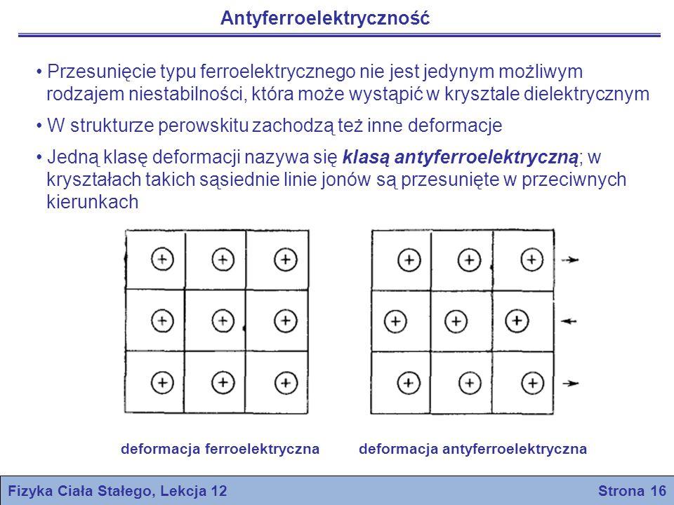 Fizyka Ciała Stałego, Lekcja 12 Strona 16