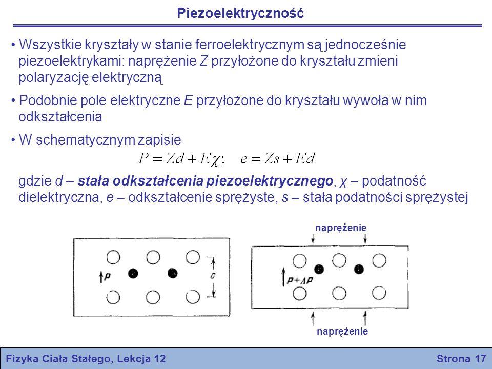 Fizyka Ciała Stałego, Lekcja 12 Strona 17