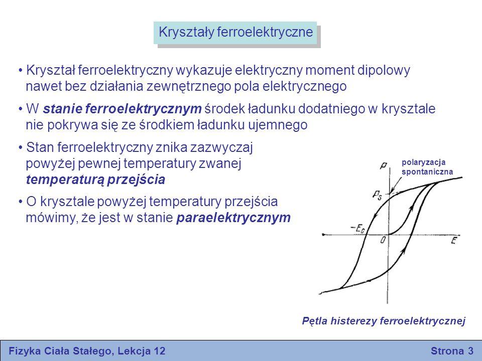 Fizyka Ciała Stałego, Lekcja 12 Strona 3