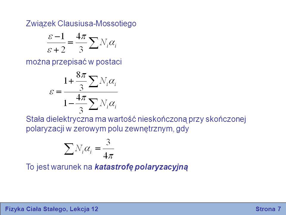 Fizyka Ciała Stałego, Lekcja 12 Strona 7