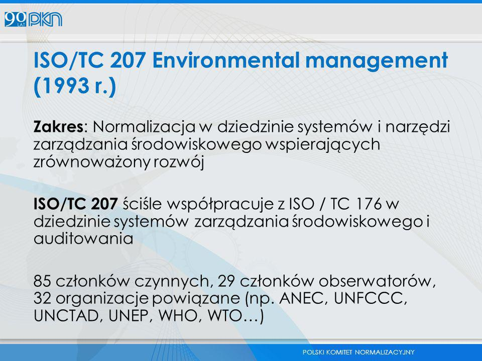 ISO/TC 207 Environmental management (1993 r.)