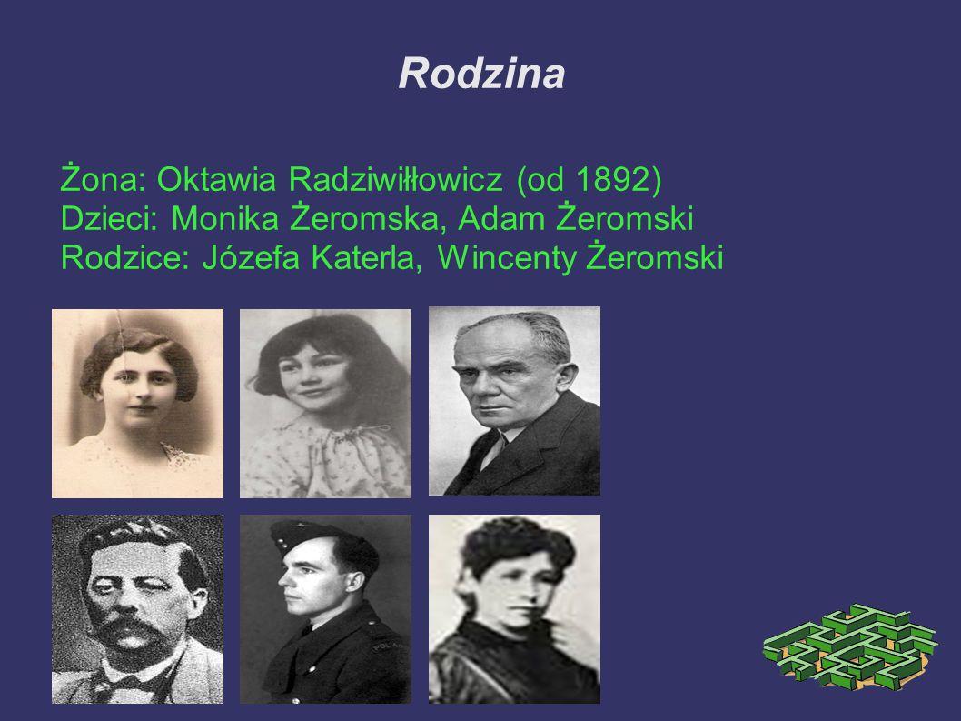 Rodzina Żona: Oktawia Radziwiłłowicz (od 1892)