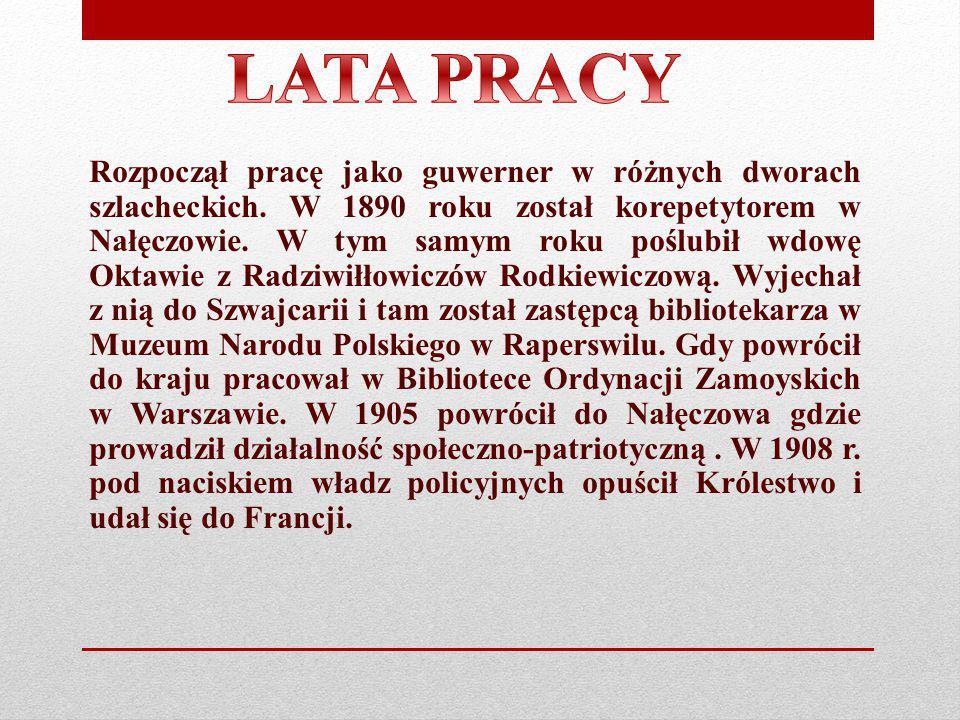 LATA PRACY