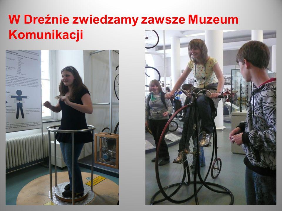 W Dreźnie zwiedzamy zawsze Muzeum Komunikacji