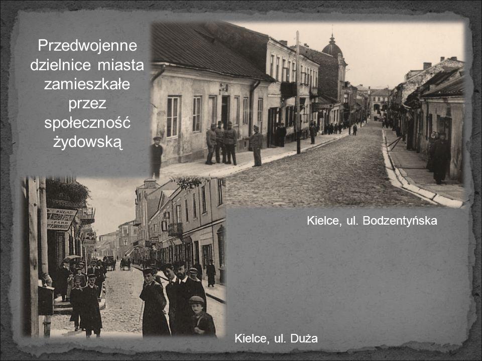 Przedwojenne dzielnice miasta zamieszkałe przez społeczność żydowską