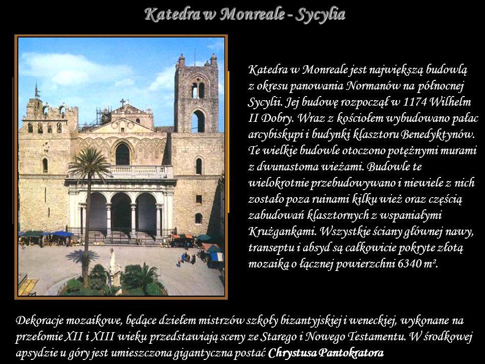 Katedra w Monreale - Sycylia