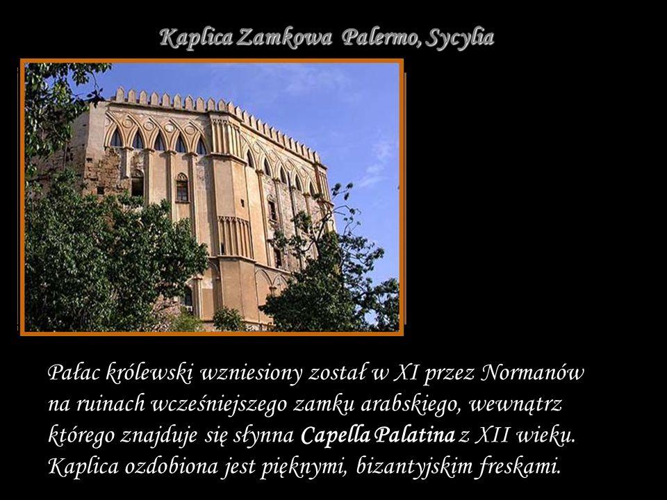 Kaplica Zamkowa Palermo, Sycylia
