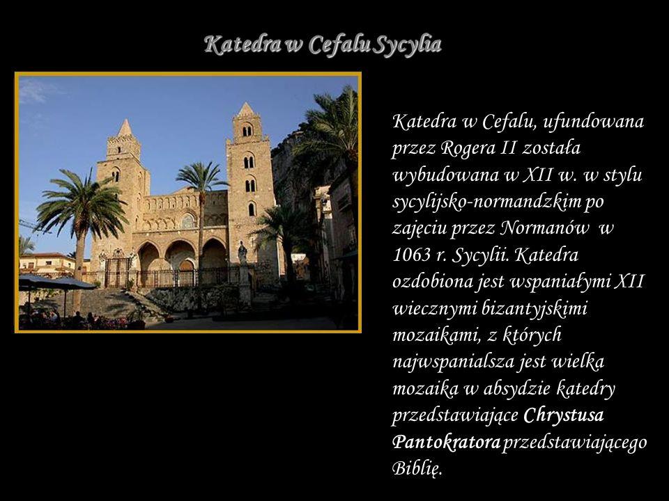 Katedra w Cefalu Sycylia