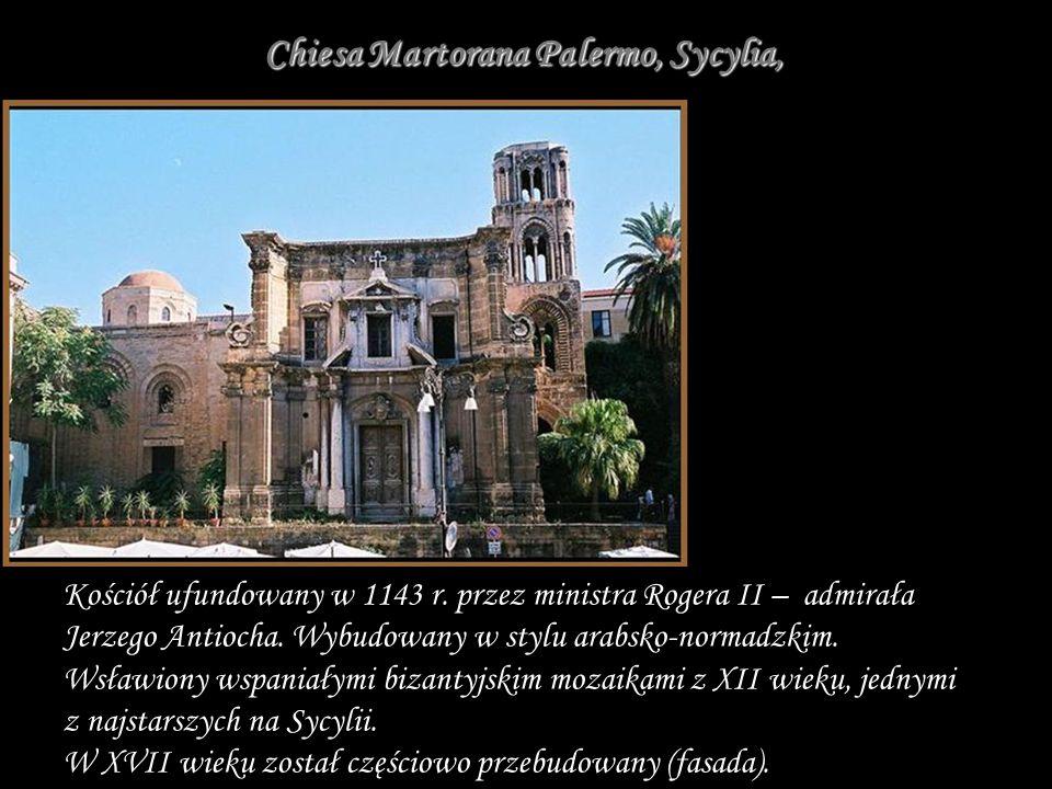 Chiesa Martorana Palermo, Sycylia,