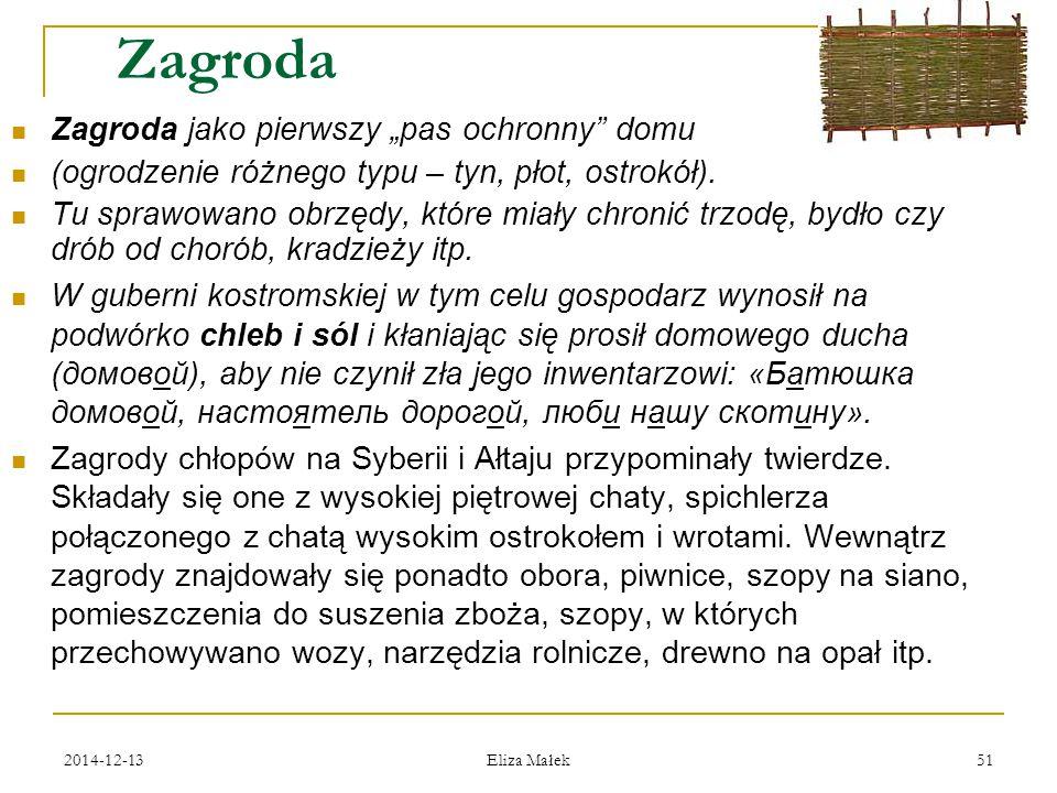 """Zagroda Zagroda jako pierwszy """"pas ochronny domu"""